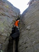 Rock Climbing Photo: Jonny on Great Rift Valley. Photo by Gigi.