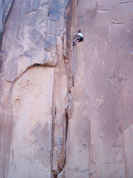Rock Climbing Photo: first real trip out: Potash, Moab