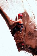 Rock Climbing Photo: Lisa Pritchett leading Archer