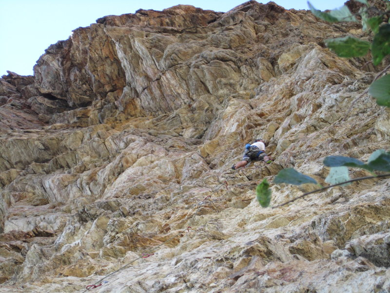 Rock Climbing Photo: Canyon on oscar the grouch