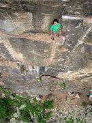 Rock Climbing Photo: Matt P. chillin' at the rest.