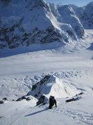 Rock Climbing Photo: Andy following