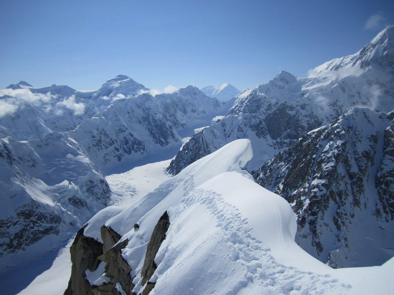 Rock Climbing Photo: Taken from around the same spot as the Puryear gui...