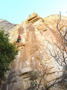 Rock Climbing Photo: This photo shows the start. You can see the roofs ...
