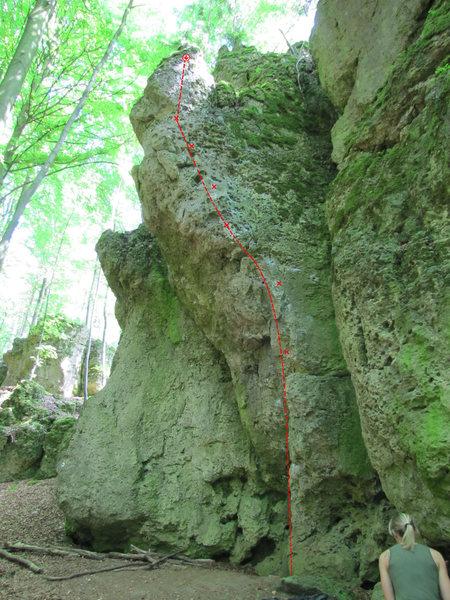 Rock Climbing Photo: Steinbeißer