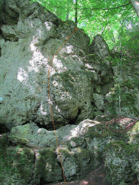 Rock Climbing Photo: Armbrust