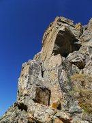 Rock Climbing Photo: The 5.2 notch upclimb.