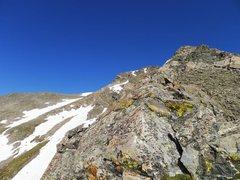 Rock Climbing Photo: Getting closer.