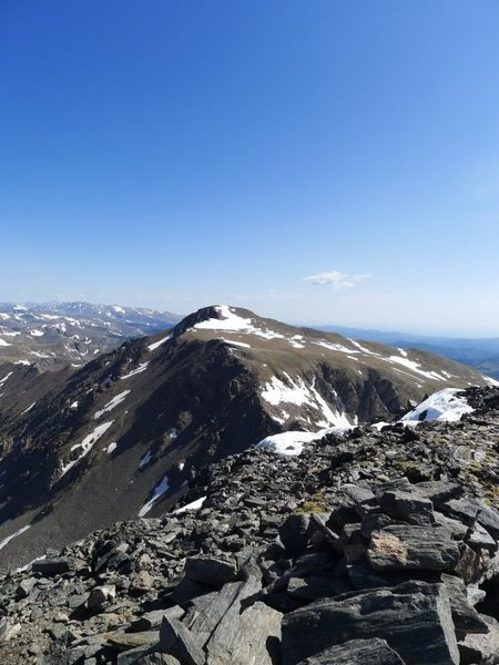 James Peak from the summit of Bancroft.