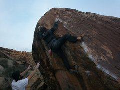 Rock Climbing Photo: moes v7
