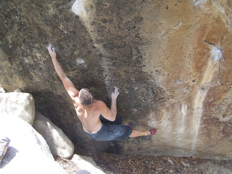 Rock Climbing Photo: price boulders v9