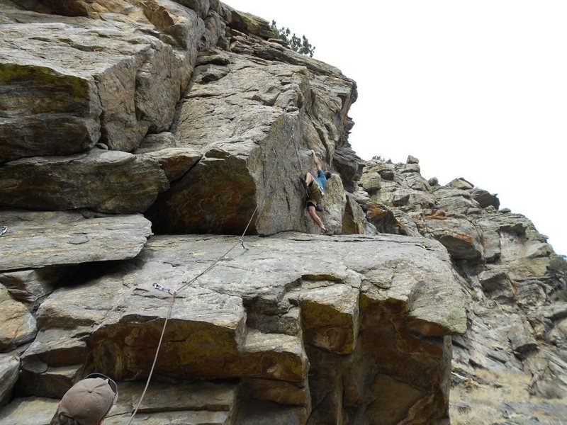 High Wire Crag, Clear Creek Canyon, Golden, CO