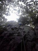 Rock Climbing Photo: Climbing at Devil's Lake