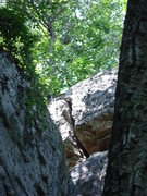 Rock Climbing Photo: top offwith of angels corner