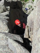 Rock Climbing Photo: Paige W belaying Eric G.  Camera courtesy of Howar...