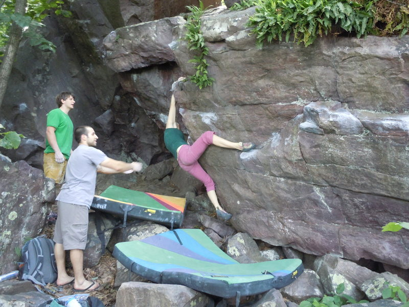 Rock Climbing Photo: Kaitlyn!