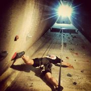 Rock Climbing Photo: Scaling a wall.
