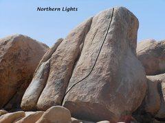 Rock Climbing Photo: Northern Lights