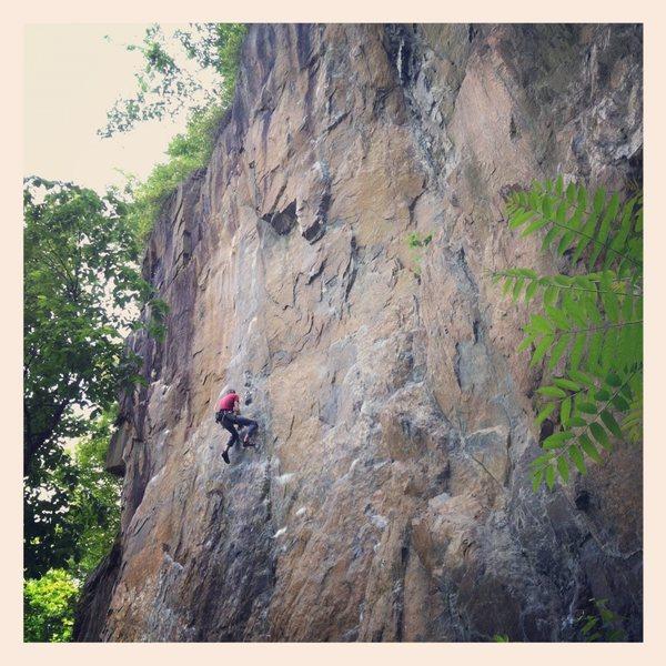 Rock Climbing Photo: Birdsboro's Big Wall