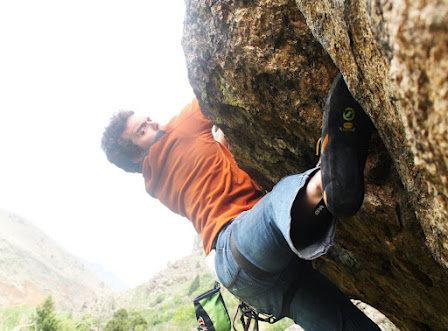 Rock Climbing Photo: 5.11a roof