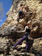 Rock Climbing Photo: Tyler Climbing at hobble creek.