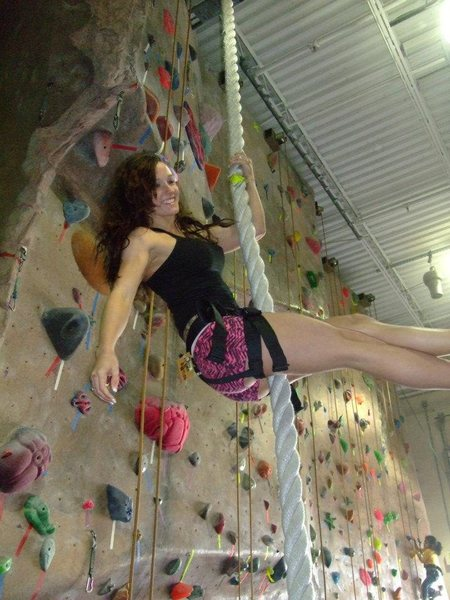 Rock Climbing Photo: ropes too :)
