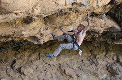 Rock Climbing Photo: The V9 start to  Rosebud (5.13)