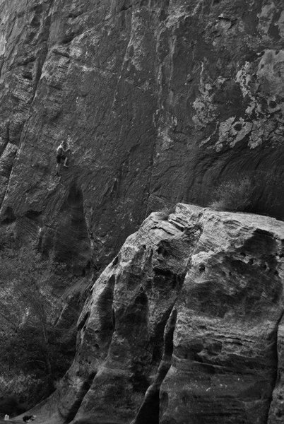 Rock Climbing Photo: Zoltan Papp on Cold Sweat