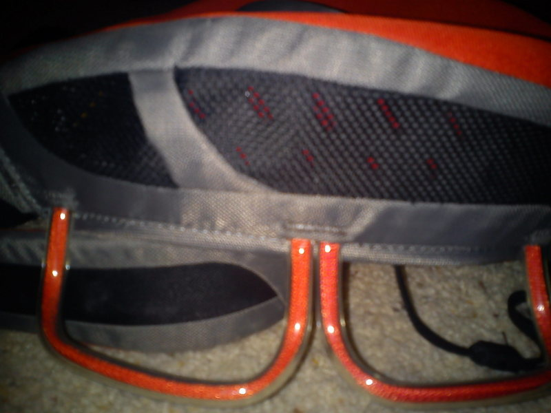 Rock Climbing Photo: Black Diamond Momentum SA harness Gear loops - too...