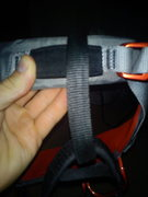 Black Diamond Momentum SA harness <br />belay loop thickness