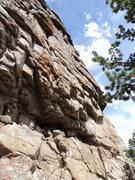 Rock Climbing Photo: The right side of the southwest face.  The furthes...