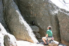 Rock Climbing Photo: The start