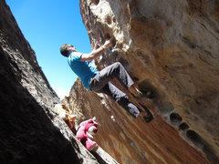 Rock Climbing Photo: Satan, Satan, Satan
