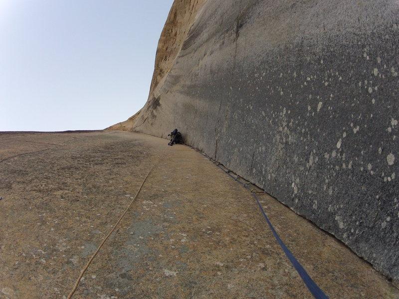 Rock Climbing Photo: the perfect p2 corner.