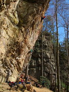 Rock Climbing Photo: Military Wall, Red River Gorge, Kentucky
