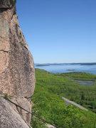Rock Climbing Photo: Beautiful view at the top