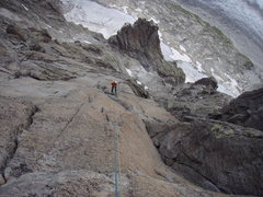Rock Climbing Photo: descent in rapel, 18 times