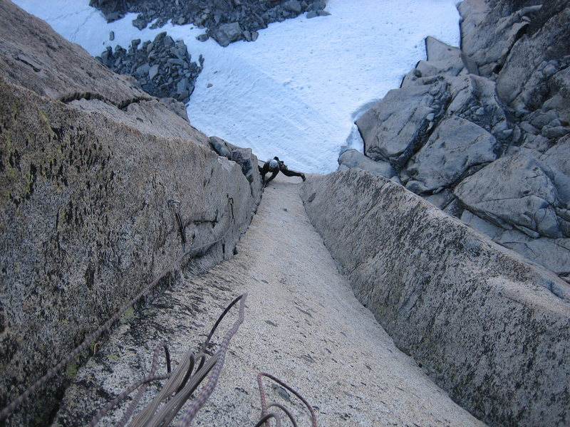 Rock Climbing Photo: Crux!