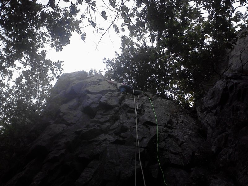 Rock Climbing Photo: Top Roping