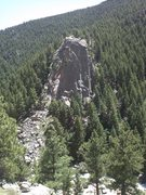Rock Climbing Photo: cob rock from across the canyon