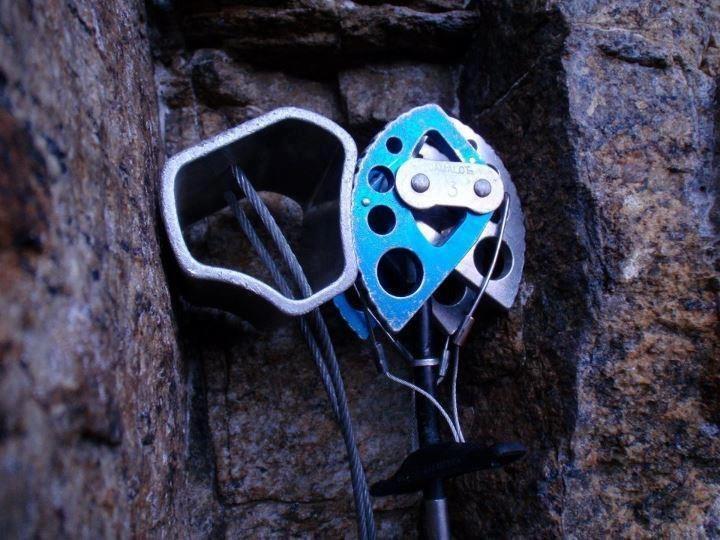 Rock Climbing Photo: Hex+Cam