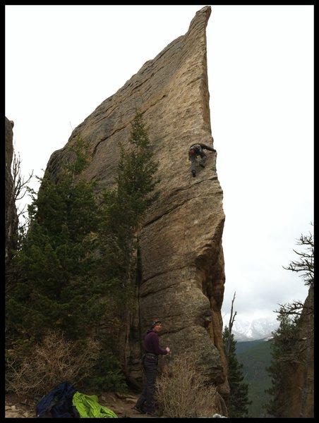 Rock Climbing Photo: Edge of Time, Lily Lake