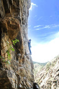 Rock Climbing Photo: 5.11b/c
