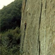 Rock Climbing Photo: John Bachar, 1985.