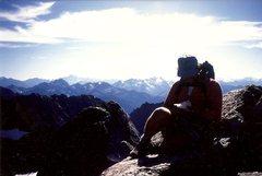 Rock Climbing Photo: Resting.