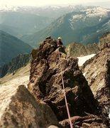 Rock Climbing Photo: Ridge.
