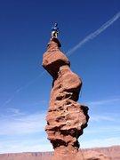 Rock Climbing Photo: Moab.