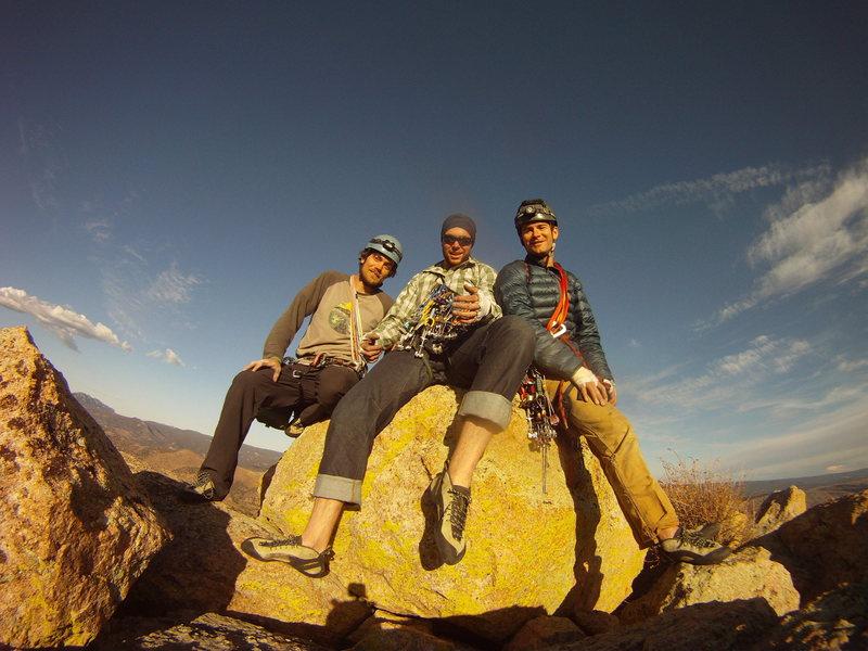 Rock Climbing Photo: Taylor, Alex and I