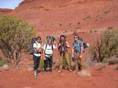 Rock Climbing Photo: Taylor, Travis, Alex, and Jon.