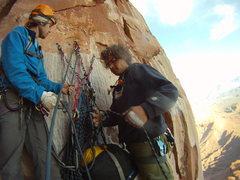 Rock Climbing Photo: The Strong boys.